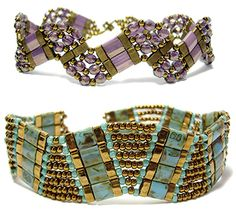 Tila Curve II Bracelet pattern at AroundTheBeadingTable.com