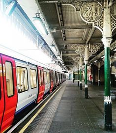 East Ham underground station, London
