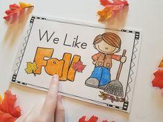 Fall Emergent Readers for Kindergarten