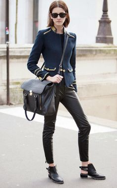 Paris Fashion Week Autumn-Winter 2014 Street Style Snapshot Part 1