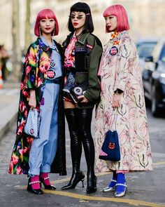 Oui Oui: All the Style from the Paris Streets - March 2018 - HarpersBAZAAR.com
