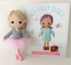 Hey there everyone! I have some lovely news to share! My wonderful Mum has designed three new knitted outfit patterns to fit the dolls fro...