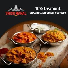 Shish Mahal offers delicious Indian Food in Walthamstow, East London Browse takeaway menu and place your order with ChefOnline. Indian Food Recipes, Ethnic Recipes, Coventry, East London, A Table, Opportunity, Curry, Menu