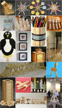 Elli and I have been saving all our Popsicle sticks. Popsicle Stick Crafts, Popsicle Sticks, Craft Stick Crafts, Preschool Crafts, Fun Crafts, Crafts For Kids, Craft Ideas, Creative Activities, Activities For Kids