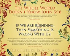 The Whole World Doesn't Know – Encouragements By His Word Series Encouragement, Healing, God, Dios, Allah, The Lord