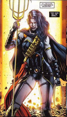Grail, daughter of Darkseid.