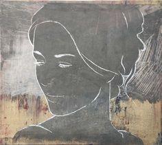Casper Faassen: new works for Kunsthuizen collection. #art #monotype #painting #kunst #casperfaassen #kunsthuizen #kunsthuisamsterdam #kunsthuisleiden #kunsthuisbreda #kunstuitleen
