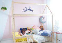 diy lit cabane pour une chambre d'enfant