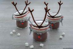 Weihnachtskakao selber machen - Schnin's Kitchen Xmas, Christmas, Pudding, Desserts, Gifts, Food, Kindergarten, Hot Chocolate, Tailgate Desserts