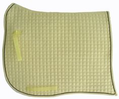 Swan-Tail / Swallow-Tail Dressage Saddle Pad. Cream with Black Piping/Trim. PRI Equine #Dressage #HorseTack #Equestrian #Dressagetack