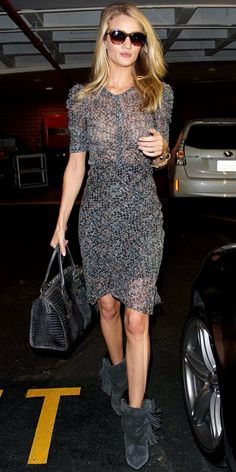 Look of the Day - October 31, 2013 - Rosie Huntington-Whiteley from #InStyle