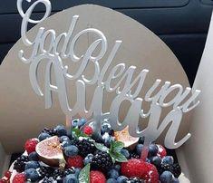 "Topper ""God Bless You"" I – Tomvalk God Bless You, Blessed, Birthday Cake, Desserts, Food, Tailgate Desserts, Birthday Cakes, Dessert, Postres"