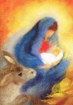 Saving for project idea, website sells felt supplies (foreign language) Christmas Nativity, Felt Christmas, Christmas Crafts, Catholic Art, Religious Art, Wet Felting, Needle Felting, Arte Digital Fantasy, Images Victoriennes
