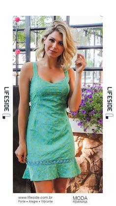 3fac40a26 7 interessantes imagens de vestido verde curto