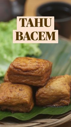 Tofu Recipes, Snack Recipes, Cooking Recipes, Vegetarian Appetizers, Indonesian Food, Low Calorie Recipes, No Cook Meals, Food Videos, Sweet Recipes