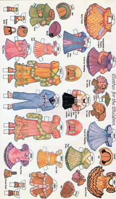 Paper Dolls~Wedding of the Paper Dolls - Bonnie Jones - Picasa Web Albums