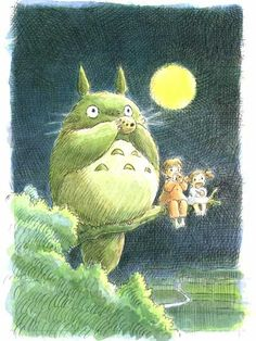 """My Neighbor Totoro"" So cute. Watched it when I was little and now my little one loves it!"