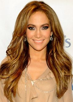 Eye Makeup for Brown Eyes Example - Jennifer Lopez Love this look!