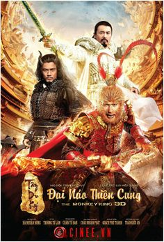 Directed by Soi Cheang. With Donnie Yen, Yun-Fat Chow, Aaron Kwok, Yitian Hai. A monkey born from heavenly stone acquires supernatural powers and must battle the armies of both gods and demons to find his place in the heavens. Streaming Hd, Streaming Movies, Hd Movies, Movies Online, Movie Tv, Movies Free, Kings Movie, Kung Fu Martial Arts, Movie Subtitles
