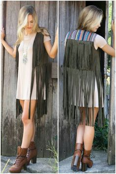 Love the olive and fringe! #amazinglace #ALbabes amazinglace.com