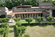 example of an atrium house Ancient Rome Pinterest