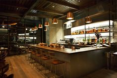 Hinoki & The Bird restaurant by MAI studio, Los Angeles