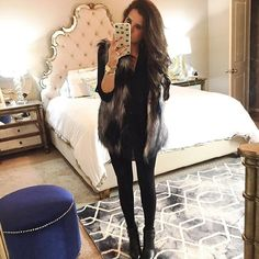 Looks Lane Loves Fall Winter Outfits, Autumn Winter Fashion, Fall Fashion, Prep Style, My Style, Classic Style, Autumn Inspiration, Style Inspiration, Fur Vest Outfits