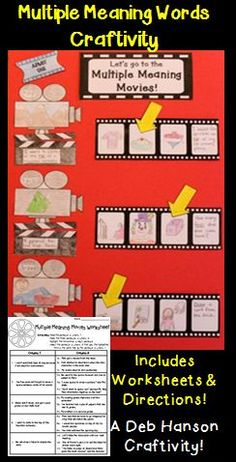 This test prep activity prepares students for this type of question: In which of the following sentences does the underlined word have the same meaning as in the first sentence?  This is a tricky question for many kids.  This engaging activity puts a fun spin on practicing for those test questions!  It makes a fun bulletin board, hallway display, or interactive notebook entry!   $