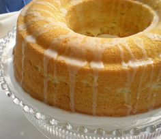 Luscious Lemon Cream Cheese Pound Cake (for National Pound Cake Day)...substitute lime and creme fraiche?