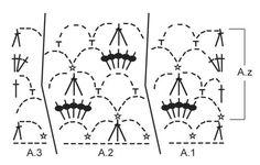 """Shining Star / DROPS 157-18 - Giacca DROPS all'uncinetto, con motivo traforato e collo a scialle, in """"Merino Extra Fine"""". Taglie: Dalla S alla XXXL. - Free pattern by DROPS Design"""