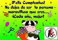 fecicidades a sandra Birthday Wishes, Birthday Cards, Happy Birthday, Cute Cards, Home Interior, Cute Quotes, Humor, Comics, Sayings