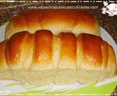 Pão doce fofinho caseiro, com nova modelagem