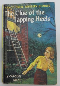 """Free: Vintage 1939 The Clue of The Tapping Heels Hardback Book """"Nancy Drew Mystery Stories"""" - Fiction Books Old Children's Books, Books To Read, My Books, Nancy Drew Mystery Stories, Nancy Drew Mysteries, Detective, Nancy Drew Books, Music Magazines, Mystery Series"""