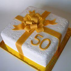 Golden Ribbon for 50