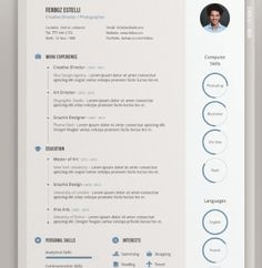 creative resumes gallery resume baker part 2 animation job search pinterest creative galleries and resume ideas