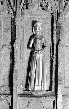 Sculpture of Mary Plantagenet,Duchess of Brittany,15th c.