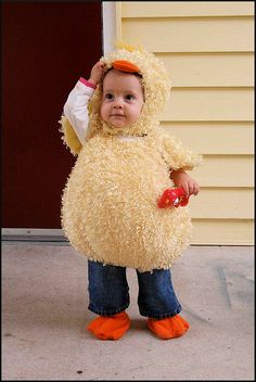 little chick halloween costume