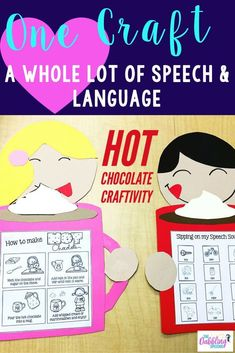 This is a great craftivity for the winter months to work on sequencing, describing, speech sounds and more!