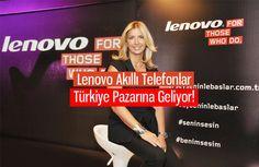 Ülkemizdeki geniş akıllı telefon pazarına Lenovo'da giriş yaptı. Farklı beklentilere farklı akıllı telefon modelleriyle çözüm olmayı isteyen Lenovo, cihazlarının tanıtımını İstanbul'da yaptı.