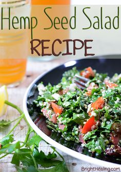 Hemp Seeds Tabbouleh