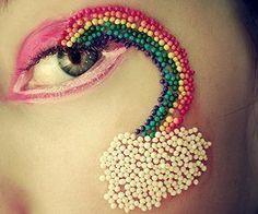 pretty rainbow sprinkles