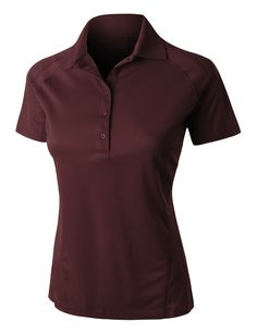 This active short sleeve sports polo shirt is the ultimate workout gear. Wear this lightweight, quick drying polo shirt when working out or just for casual wear. Perfect to wear with pants or skirts. Sports Polo Shirts, Christmas Tee Shirts, Polo Outfit, Golf Attire, Basic Outfits, Ladies Golf, Active Wear For Women, Ladies Dress Design, How To Wear