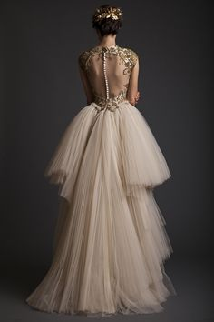 Gorgeous gown from Krikor Jabotian's 2014 collection