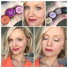 ShadowSense: Sandstone Pearl Pink Opal shimmer Mocha Java Onyx as liner  LipSense: Coral ice Purple Reign 2x Coral ice Topped with orchid gloss PM to order!! Color will last up to 18hrs!! #lipsense #senegence #endlesskisses #longlastinglipgloss #lipglosslover #lipglossaddict #lips #beauty #makeup #getpaidtoplaywithmakeup #beyourownboss #lipboss #joinmenowaskmehow #joinmenoworwatchmedoit