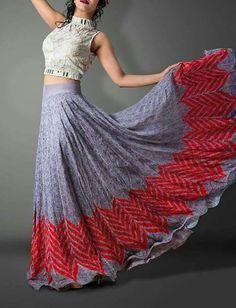 wild look long skirt....