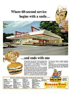 Burger King.  (That kid must be REALLY small!)