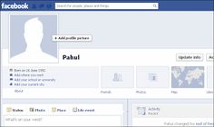 Make your account with Single name Facebook account