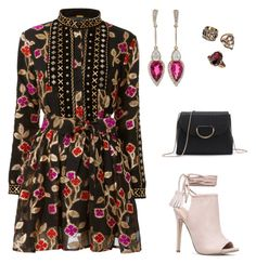 """""""dress"""" by rosy-costa-rc on Polyvore featuring JustFab, Inbar, LE VIAN and Avon"""