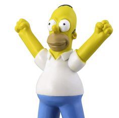 Homer Simpson Cake Topper Birthday Figure by CakesNotIncluded