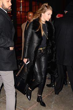 Gigi Hadid. British Vogue waysify